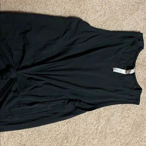 Worn once- black lululemon muscle tank